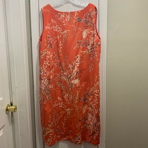 TALBOT orange dress EUC. Size22.
